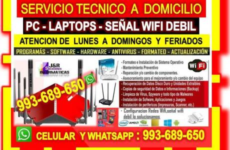 TECNICO DE PCS REPETIDORES WIFI ROUTERS LCABLEADOS LAPTOPS RPOGRAMAS